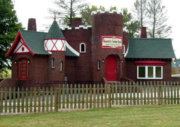 Santa Claus Hall of Fame at the Candy Castle